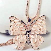Colier Exquisite Opal Butterfly