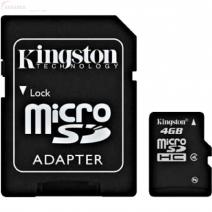 Micro SD 4 GB + Adaptor SD