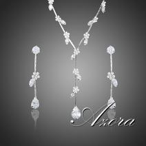 Set AZORA Water Flower - Cristal
